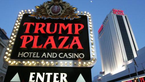 The Trump Plaza hotel and casino in Atla